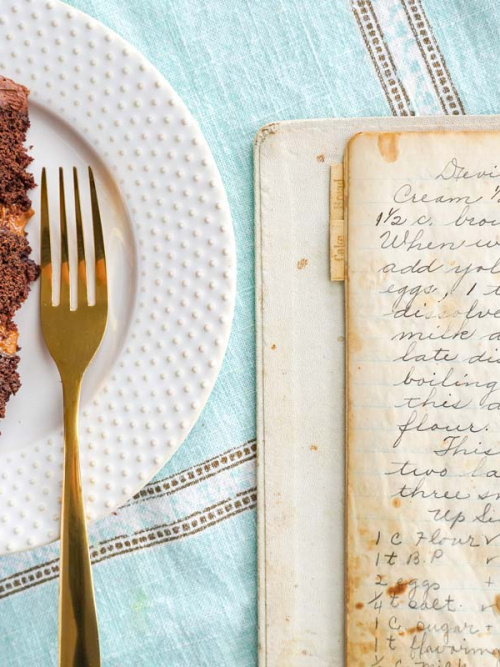 Great-Grandma's Devil's Food Cake Recipe